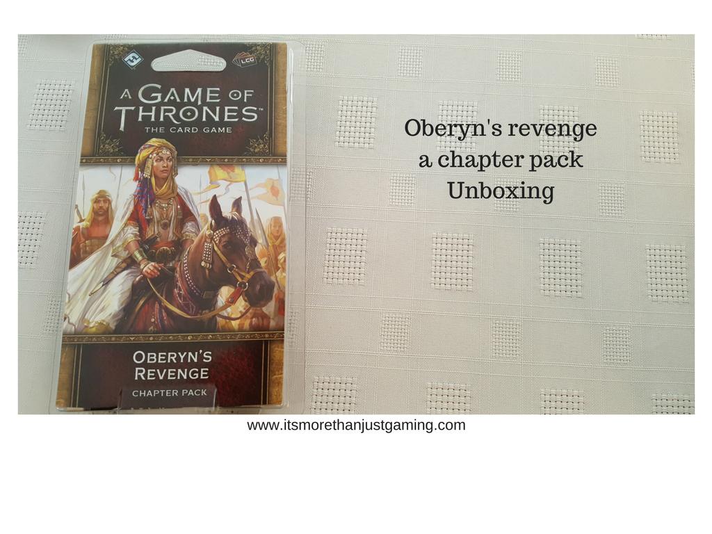 Oberyn's Revenge box