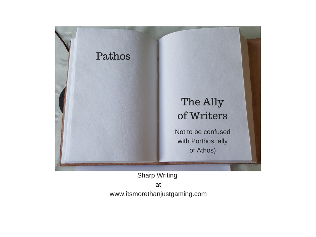 Pathos the ally of the writer