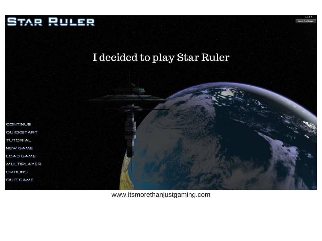 I Decided to play Star Ruler