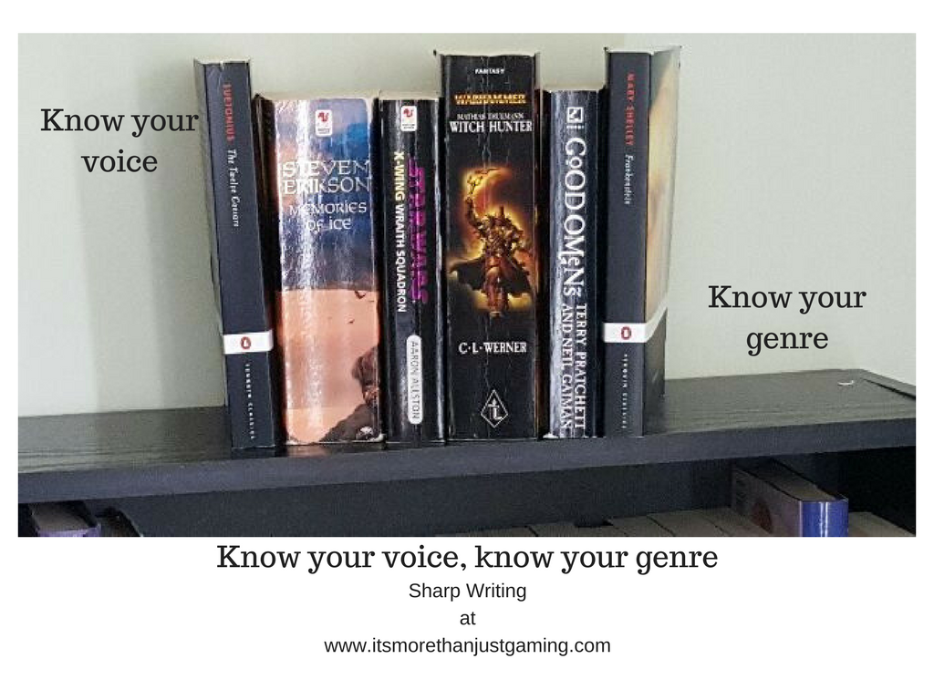 Know your voice, know your Genre