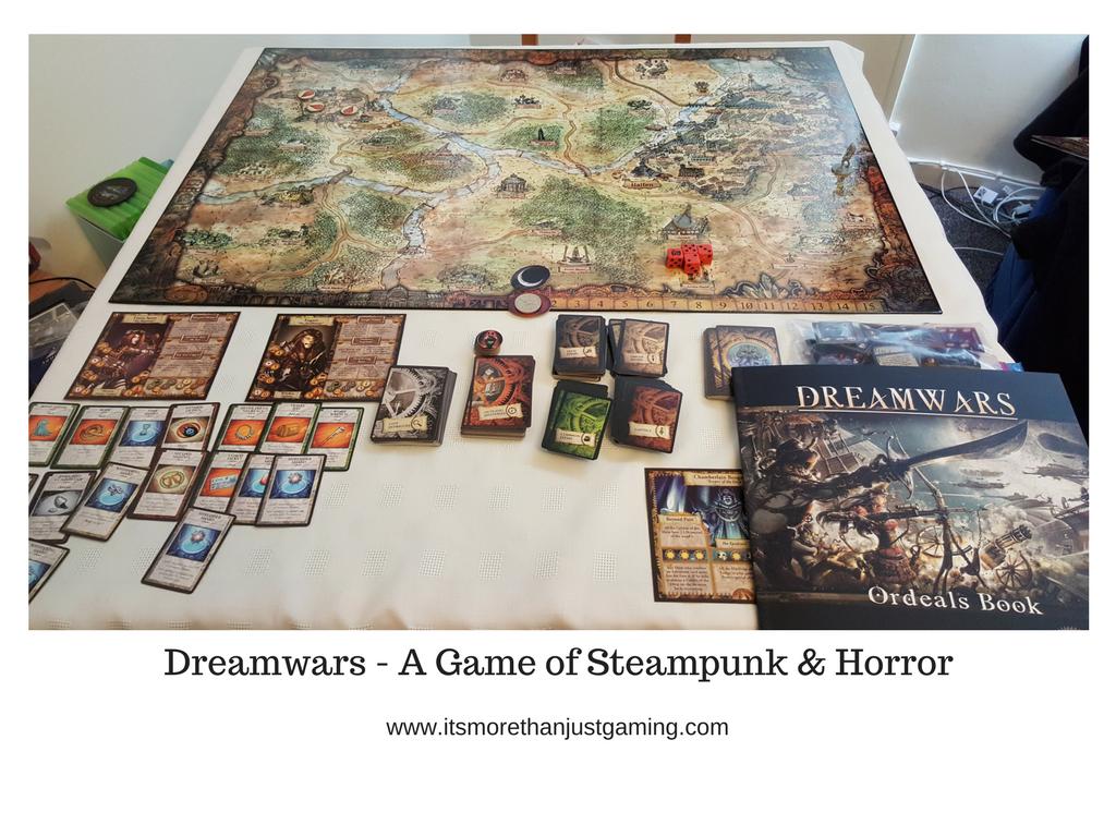 Dreamwars - A Game of Steampunk & Horror