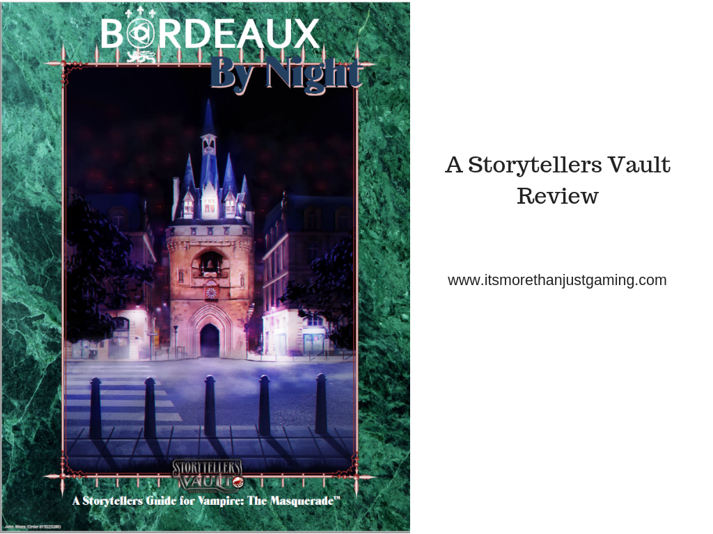 Bordeaux by Night ST Guide st vault review